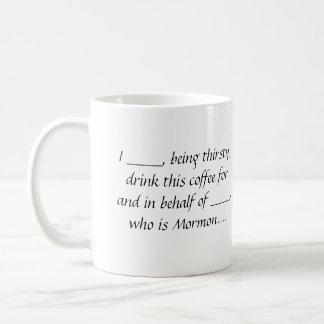 Tasse de café de procuration