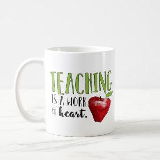 Tasse de café de professeur