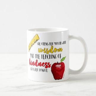 Tasse de café de professeur des proverbes 31