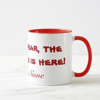 Tasse de café de professeur remplaçant