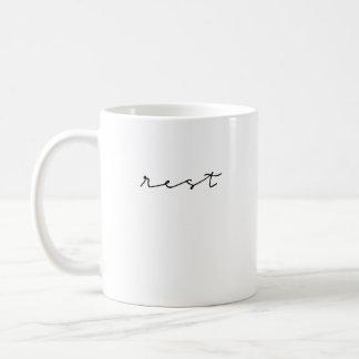 Tasse de café de repos