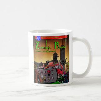 Tasse de café de route de zombi