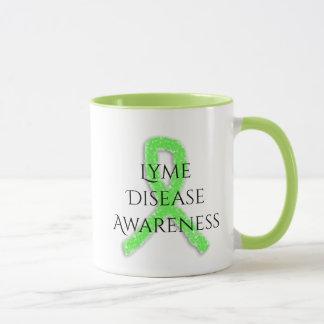 Tasse de café de ruban de conscience de la maladie
