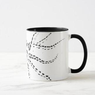 Tasse de café de seiches
