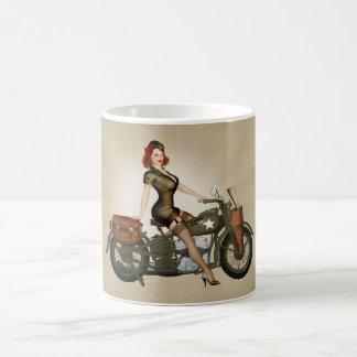 Tasse de café de sergent Davidson Army Motorcycle
