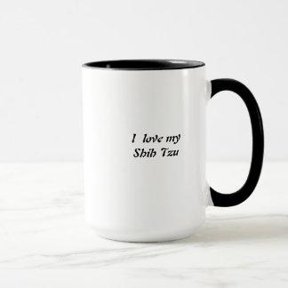 Tasse de café de Shih Tzu