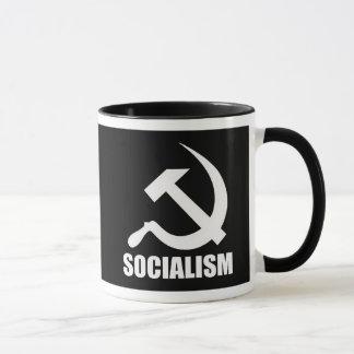 Tasse de café de socialisme