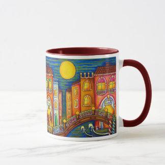 Tasse de café de Soiree de Venise par Lisa Lorenz