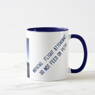 Tasse de café de steward (hôtesse de l'air)