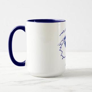 Tasse de café de superhéros de CFHV