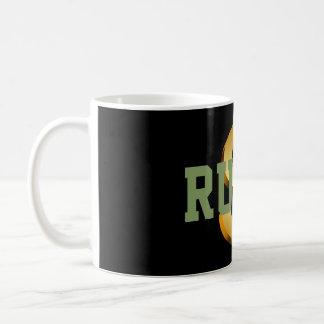 Tasse de café de symbole dollar de la règle 1