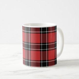 Tasse de café de tartan de secteur de Dunbar