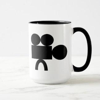 tasse de café de tasse je tire le style de cinéma