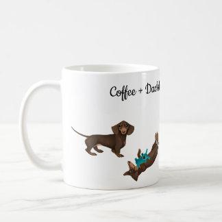 Tasse de café de teckel