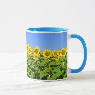 Tasse de café de tournesol