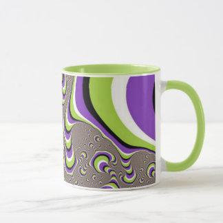 Tasse de café de trouble visuel