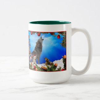 Tasse de café de vacances ou de chocolat chaud