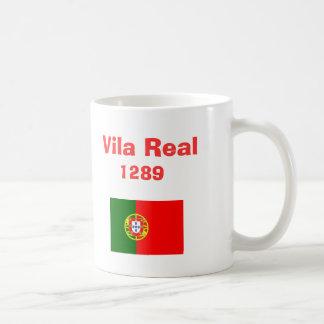 Tasse de café de Vila Real* Portugal Caneca De