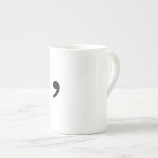 Tasse de café de virgule d'Oxford