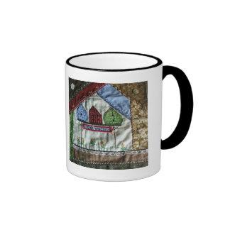 Tasse de café de volière d'édredon fol