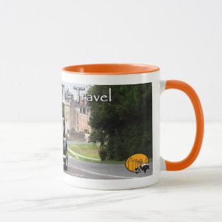 Tasse de café de voyage de temps du Val de Loire