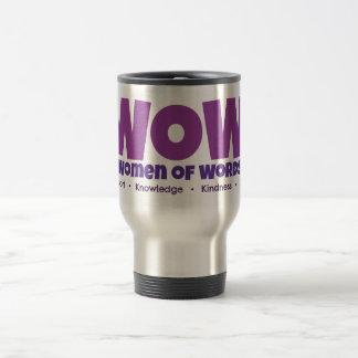Tasse de café de voyage de wow