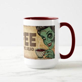 Tasse de café de zombi