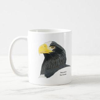Tasse de café d'Eagle de mer de Steller