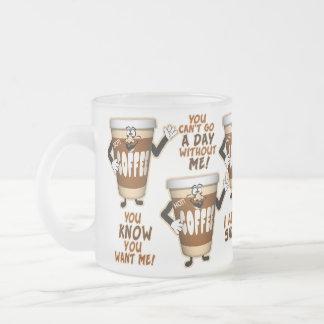 Tasse de café d'élément perturbateur de café