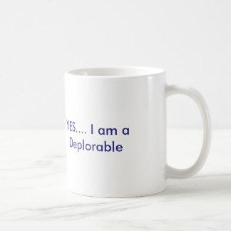 Tasse de café déplorable