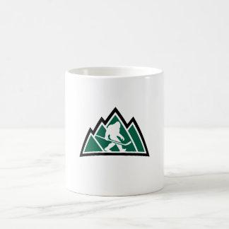 Tasse de café d'hockey de Sasquatch