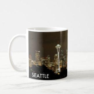 Tasse de café d'horizon de Seattle