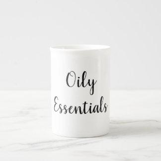 Tasse de café d'huile essentielle