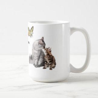 Tasse de café d'impression d'animaux