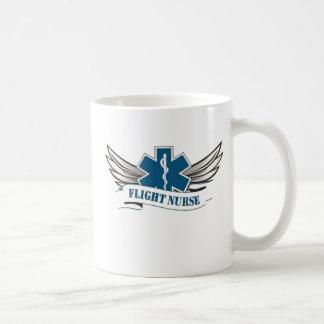 Tasse de café d'infirmière de vol