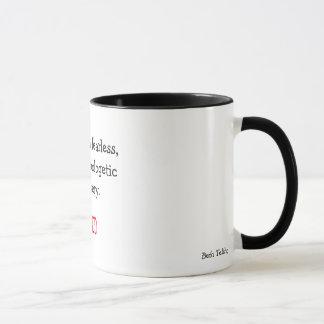 Tasse de café d'inspiration d'auteur