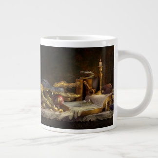 Tasse de café d'intellect d'alligator