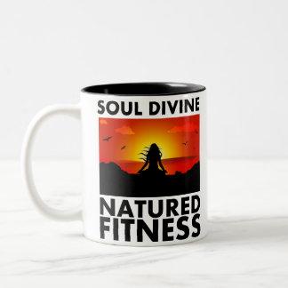 Tasse de café divine d'âme