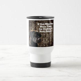 Tasse de café drôle de Camo de laboratoire de
