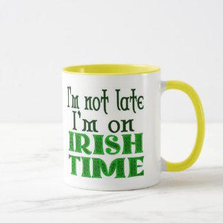 Tasse de café drôle de temps irlandais