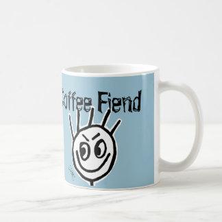 Tasse de café drôle folle, DÉMON