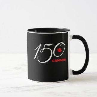 Tasse de café du Canada 150.  Célébration de jour