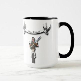 tasse de café du chevalier 15oz blanc
