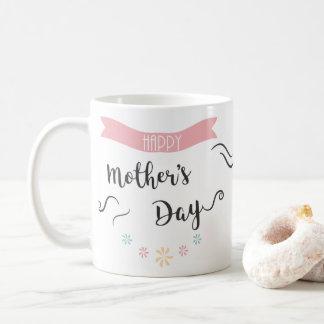 Tasse de café du jour de mère