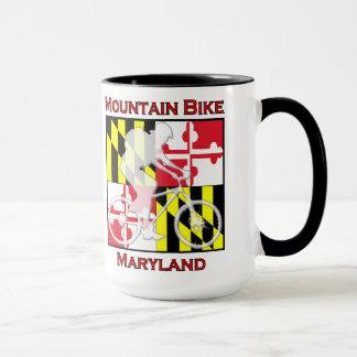 Tasse de café du Maryland de vélo de montagne