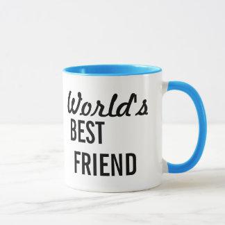 Tasse de café du meilleur ami du monde