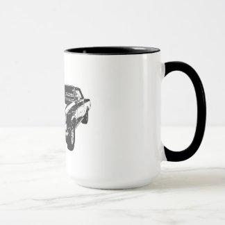 Tasse de café du noir 1965 GTO