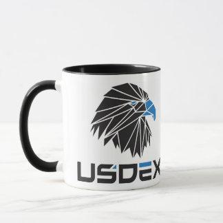 Tasse de café d'USDEX