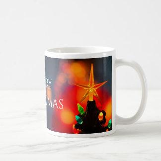 Tasse de café en céramique d'étoile d'arbre de