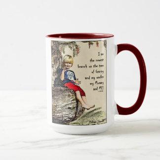 Tasse de café enorme d'arbre généalogique d'Ethan